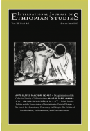 International Journal of Ethiopian Studies [XI, 1&2]